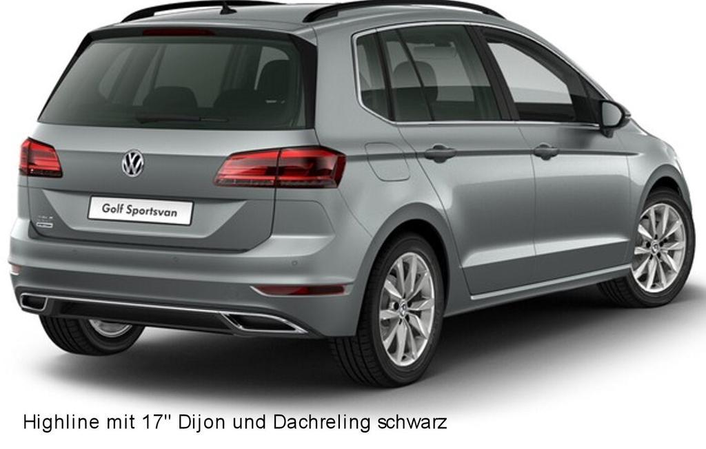 volkswagen golf sportsvan highline 1 5 tsi 130 ps auto. Black Bedroom Furniture Sets. Home Design Ideas