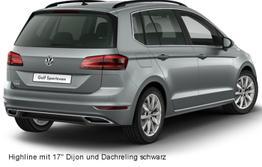 Golf Sportsvan - Comfortline 1.5 TSi 150 PS DSG, LED, App-Connect, ergoActiv, Sitzheizung...