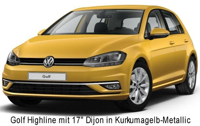 "Volkswagen Golf - Highline ""Premium"" 1.6 Tdi 115 PS MJ 19, LED-Scheinwerfer, Klimaautom., App-Connect, Kamera, Sitzheizung, Tempomat, Parkpilot, Bluetooth..."
