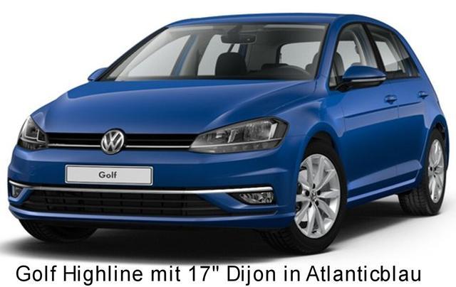 Volkswagen Golf - Highline 1.5 TSi 150 PS DSG, Alus 17