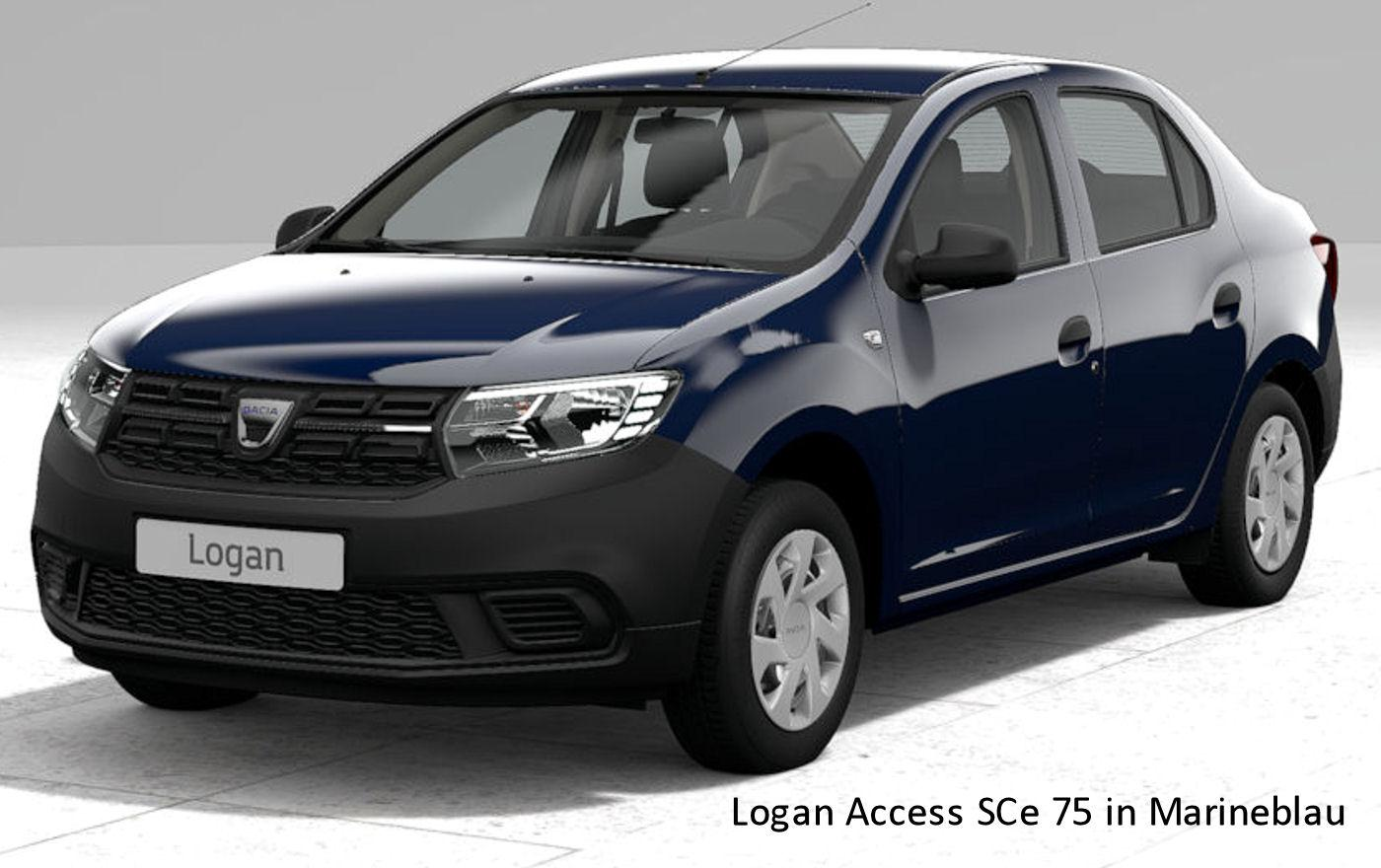 dacia logan access sce 75 auto goldammer. Black Bedroom Furniture Sets. Home Design Ideas
