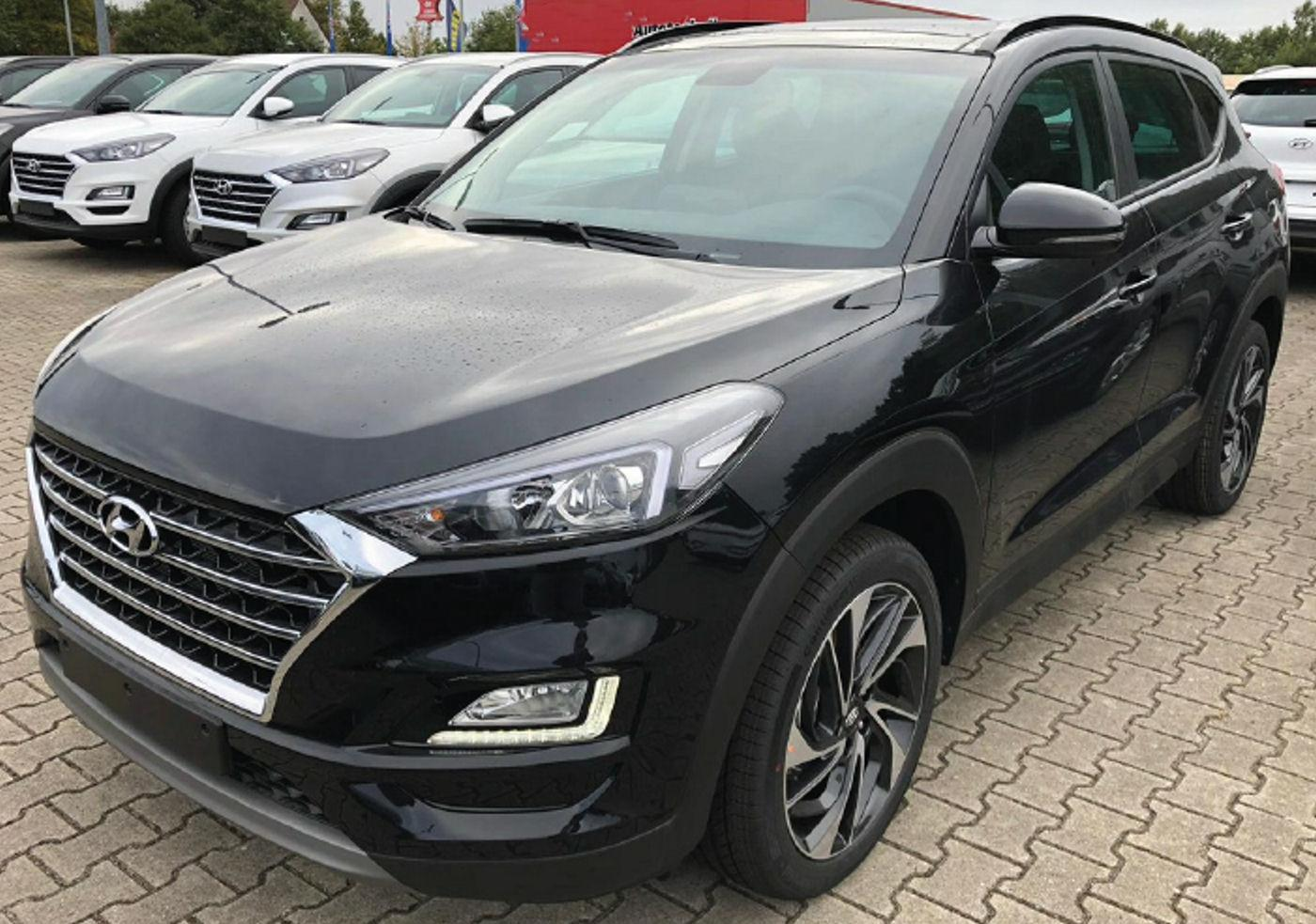 hyundai tucson facelift 1 6 crdi 2wd 7 dct automatik auto. Black Bedroom Furniture Sets. Home Design Ideas