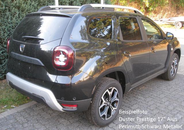 "Bestellfahrzeug, konfigurierbar Dacia Duster - Prestige TCe 130, Navi, Alus 17"", Kamera, Totwinkelüberwachung, dunkle Scheiben..."