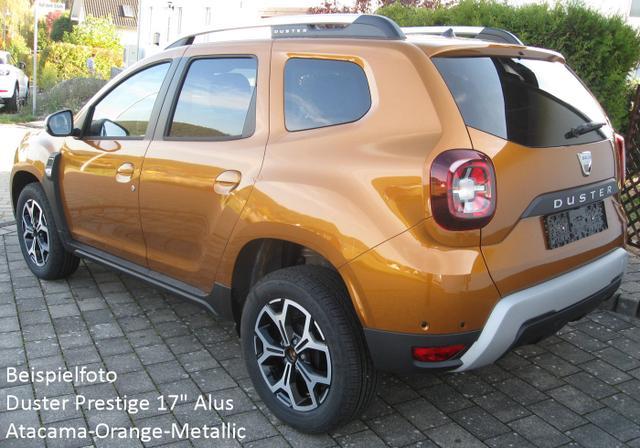"Bestellfahrzeug, konfigurierbar Dacia Duster - Prestige TCe 100 LPG, Navi, Alus 17"", Kamera, Klimaautomatik, Totwinkelüberwachung, dunkle Scheiben..."