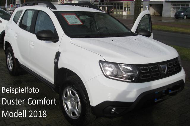 Vorlauffahrzeug Dacia Duster - Comfort TCe 100, Navi, Kamera, Einparkhilfe, Klima, 4x el. FH, Ersatzrad, Radio, Bluetooth, Tempomat, Nebel, ZV-fern...