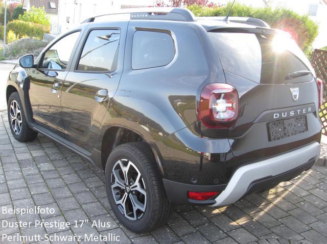 Dacia Duster - Prestige TCe 130, Keycard, Klimaautom., Multi-View, Metallic, Blint-Spot, Sitzheizung, Ersatzrad, Navikarte...
