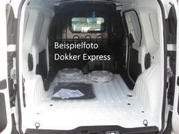 Dokker - Express SCe 100, Klima, Radio, el. Fensterheber, ZV-fern...