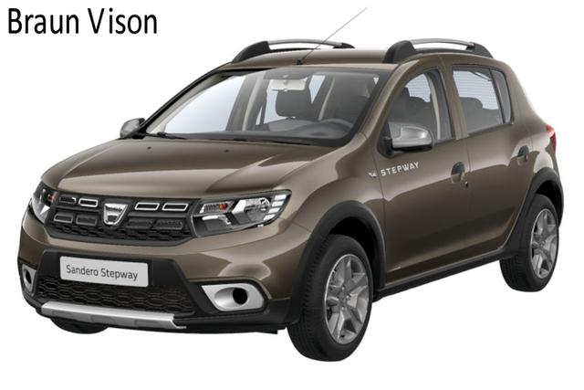 Vorlauffahrzeug Dacia Sandero - Stepway Prestige dCi 95, Metallic, Sitzheizung, 4 x el. FH, Navi, Klimaautomatik, Rückfahrkamera...