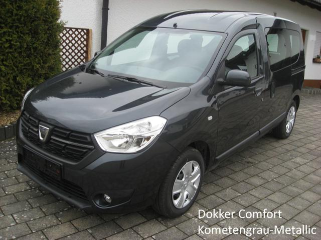 Bestellfahrzeug, konfigurierbar Dacia Dokker - Comfort TCe 100, Schiebetüren li. u. re., Klima, Radio...