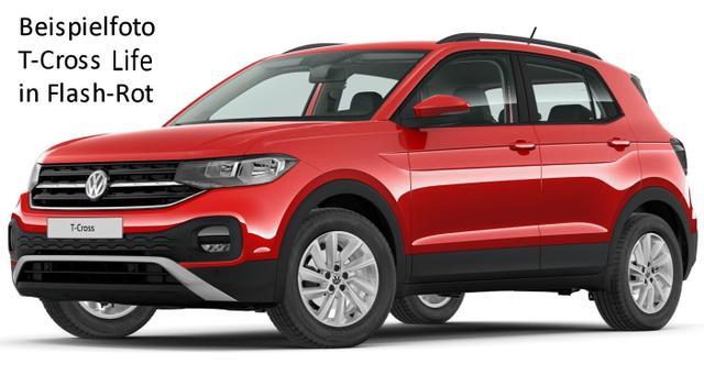 Volkswagen T-Cross Life 1.6 TDi 95 PS 5-Gang, Alus, Einparkhilfe, Klima, Radio...