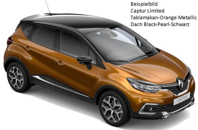 Renault Captur - Limited TCe 130, Klimaautomatik, Navi, Alus, Ersatzrad...