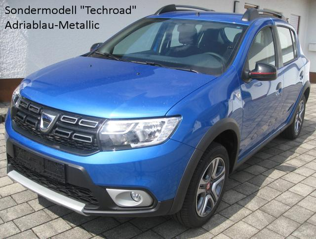 Dacia Sandero - Stepway Techroad TCe 90, Navi, Kamera, Klimaautomatik, 4xel. FH...