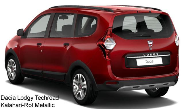 Vorlauffahrzeug Dacia Lodgy - Stepway TCe 130, 7-Sitzer, Navi, EU-Karten, Kamera, Sitzheizung, Klima, Nebel, Radio, ZV-fern...