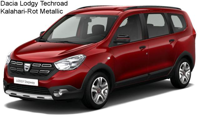 Dacia Lodgy - Stepway Techroad SCe 100, 7-Sitzer, Navi, Kamera, Sitzheizung, Klima, Ersatzrad, Nebel...