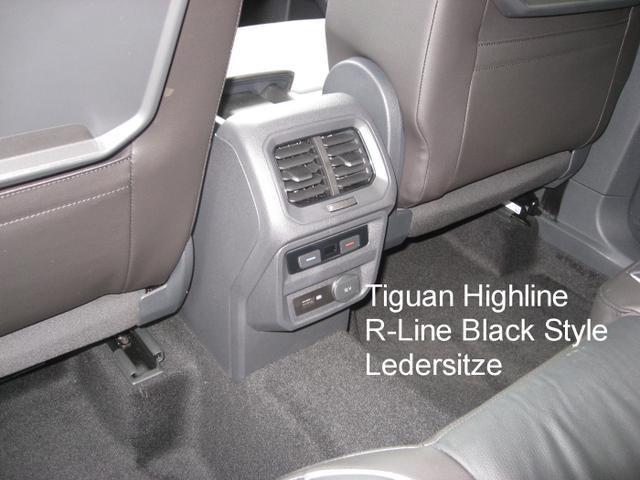 "Volkswagen Tiguan Highline ""R-Line Black Style"" 2.0 TDi 150 PS 4Motion DSG-7, Navi, Kamera, el. Heckklappe, Parkpilot, Sitzheizung...."