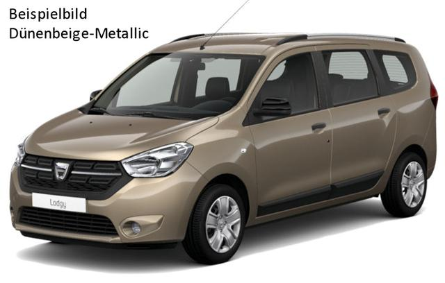 Vorlauffahrzeug Dacia Lodgy - Comfort TCe 100, 7-Sitzer, Navi, Einparkhilfe, Ersatzrad, Klima, Nebel, Radio, ZV-fern...