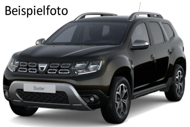 "Vorlauffahrzeug Dacia Duster - Prestige TCe 100 4x2, Ersatzrad, Sitzheizung - Serie noch Look-Paket, 17"" Alus, Navi, Blind Spot, Einparkhilfe, Bluetooth, Tempomat, Nebel, ZV-fern..."