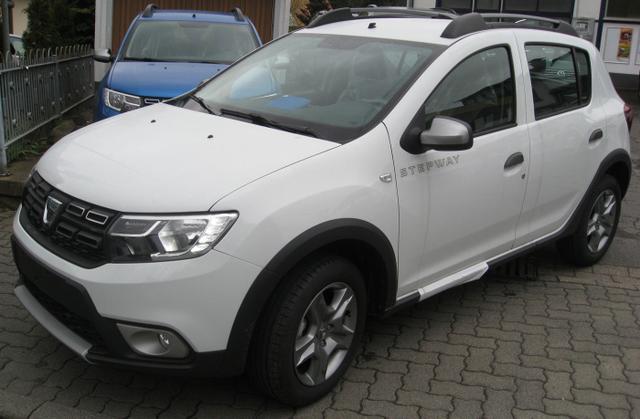 Vorlauffahrzeug Dacia Sandero - Stepway SCe 75, Klima, Ersatzrad, Radio, Bluetooth, el. Fensterheber, ZV-fern...