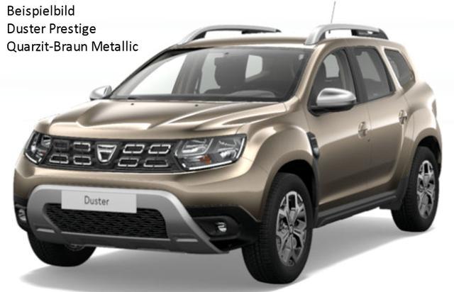 Vorlauffahrzeug Dacia Duster - Prestige TCe 150 Allrad, Metallic, Blind Spot, Multiviewkamera, Keyless, Klimaautomatik, Sitzheizung, Ersatzrad, Navi, Bluetooth, Tempomat, Nebel, ZV-fern...