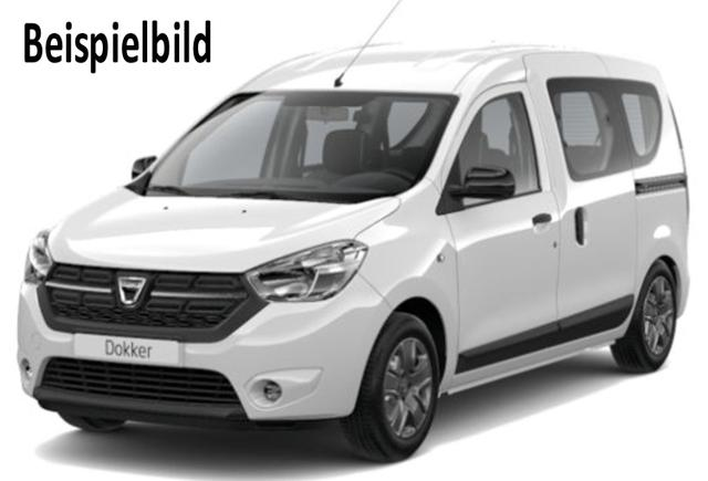 Vorlauffahrzeug Dacia Dokker - Comfort TCe 100, Ersatzrad, Klima, Nebel, Radio...