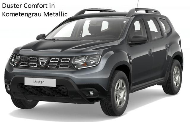 Vorlauffahrzeug Dacia Duster - Essential TCe 100 LPG Autogas, Metallic, Klima, Einparkhilfe, Nebel - Radio, Bluetooth, ZV-fern...