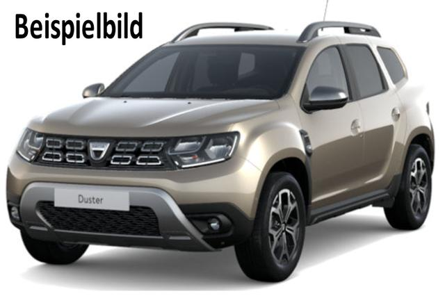 Vorlauffahrzeug Dacia Duster - Prestige TCe 150, Ersatzrad, Klimaautomatik, Blind Spot, Navi, Kamera, Bluetooth, Dachreling, Bordkomputer, el. FH, ZV-fern