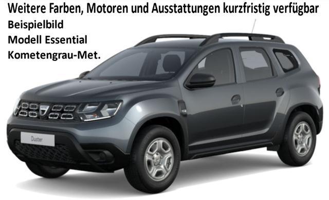Vorlauffahrzeug Dacia Duster - Essential TCe 100, Klima, Ersatzrad, Nebelscheinwerfer, Bluetooth, Dachreling, Bordkomputer, el. FH, ZV-fern