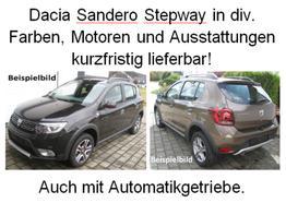 Sandero - Stepway TCe 90, Navi, Klima, Sitzheizung, Tempomat, Radio, Nebelscheinwerfer...