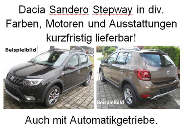 Bestellfahrzeug, konfigurierbar Dacia Sandero - Stepway Celebration dCi 95, Navi, Einparkhilfe, 4x el. FH, Klimaautomatik, Ersatzrad, Radio, Armlehne..