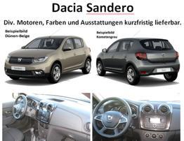 Sandero - Comfort TCe 90, Ersatzrad - Bluetooth, Klima, el. FH, ZV-fern....
