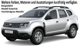 Duster - Essential TCe 100 Metallic, Klima, Nebel, Ersatzrad - Serie noch Radio, Bluetooth, Dachreling, Bordkomputer, el. FH, ZV-fern...