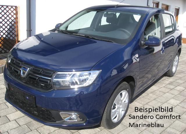 Vorlauffahrzeug Dacia Sandero - Comfort SCe 75, Einparkhilfe, Ersatzrad - Klima, Radio, ZV-fern..
