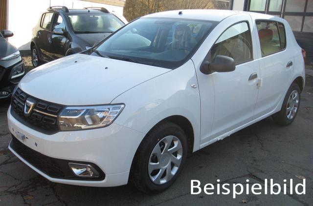 Vorlauffahrzeug Dacia Sandero - Comfort TCe 100 LPG, Einparkhilfe - Klima, Radio, ZV-fern..