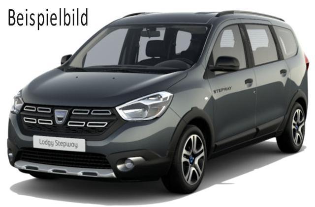 Vorlauffahrzeug Dacia Lodgy - Stepway dCi 115, 7-Sitzer, Metallic, Navi, Rückfahrkamera, 4 x el. FH, Ersatzrad - Radio, Klima, Einparkhilfe, Tempomat, Nebel, ZV-fern...