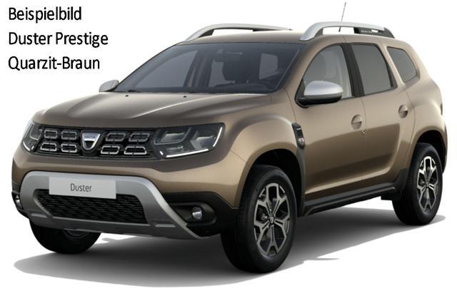 "Vorlauffahrzeug Dacia Duster - Prestige TCe 130, Metallic - Navi, Klimaautomatik, Alus 17"", Kamera, Totwinkelüberwachung, dunkle Scheiben..."