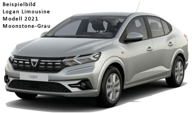 Vorlauffahrzeug Dacia Logan - Comfort TCe 100 LPG, Metallic, Klimautomatik, Einparkhilfe - Radio 8-Zoll-Touchscreen, Nebel, Tempomat...