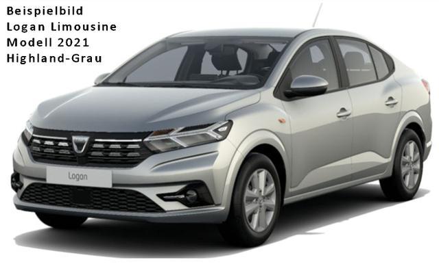 Vorlauffahrzeug Dacia Logan - Comfort TCe 90 CVT Automatik, Einparkhilfe hi., Keyless-System, elektrische Feststellbremse - Nebel, Tempomat...