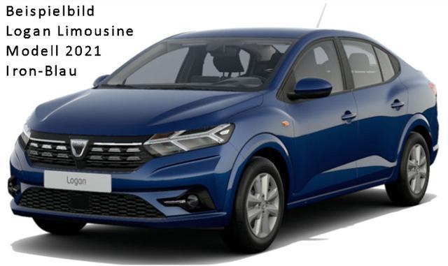 "Vorlauffahrzeug Dacia Logan - Comfort TCe 90, Navi, Parkpaket 2, Sitzheizung, Komfortpaket, TFT-Dashboard-Displays; Lederlenkrad; Alufelgen 16"", 4x el. Fensterheber - Nebel, Tempomat..."