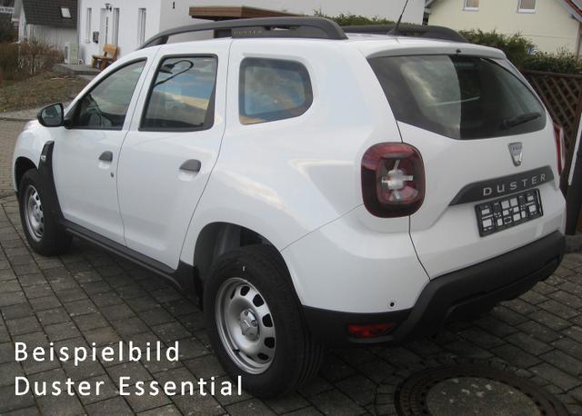 Vorlauffahrzeug Dacia Duster - Essential TCe 100 LPG Autogas Modell 2021, Klima, Einparkhilfe, Nebel - Radio, Bluetooth, ZV-fern...