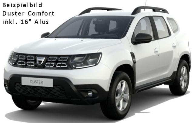 Vorlauffahrzeug Dacia Duster - Comfort TCe 100 LPG, Navi, Kamera, Sitzheizung, Einparkhilfe - Alus, Klima, 4xel. FH, Radio, Bluetooth, Tempomat, Nebel, ZV-fern...