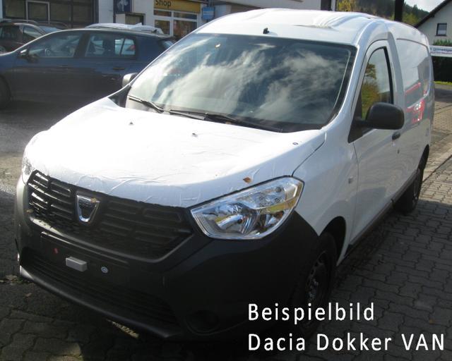 Vorlauffahrzeug Dacia Dokker - Express dCi 75, Klima, Trennwand, Ersatzrad, el. Außenspiegel - Radio, ZV-fern, FH,...