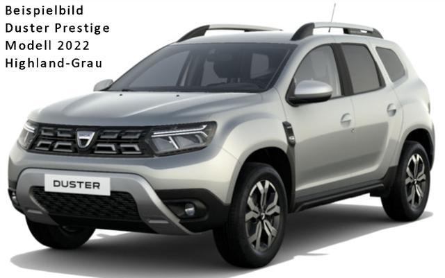 "Vorlauffahrzeug Dacia Duster - Prestige dCi 115 Metallic, Allrad, Keycard, Multi-View-Kamera, Blind Spot - Klimaautomatik, Ersatzrad, Navi, Sitzheizung, Alus 17"", Einparkhilfe, dunkle Scheiben..."