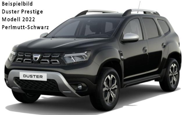 "Vorlauffahrzeug Dacia Duster - Prestige TCe 150 Automatik neues Modell ""kurzfristig"", Metallic, Multiview Kamera - Alus 17"", Look-Paket, Klimaautomatik, 4xel. FH, Media Nav, Rückfahrkamera, Einparkhilfe hi., Bluetooth, Tempomat, Nebel, ZV-fern..."