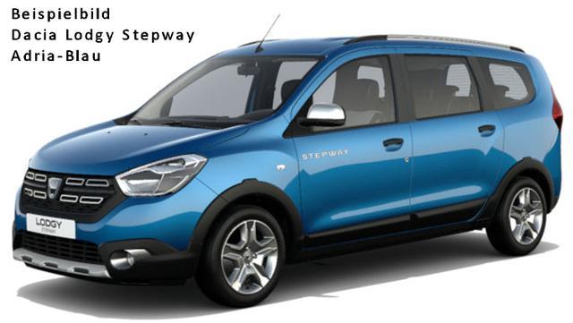 Vorlauffahrzeug Dacia Lodgy - Stepway dCi 115, 7-Sitzer, Metallic, Einparkhilfe hi., FH hi. el. - Navi, Klima, Tempomat, vo. el., ZV-fern...