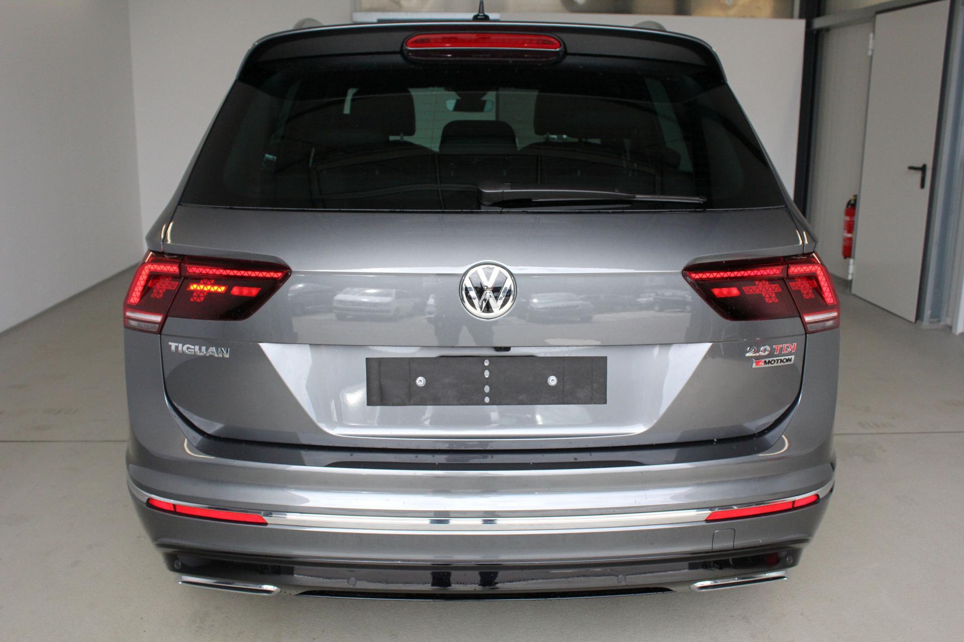 Volkswagen Tiguan Highline R Line Vollausstattung 20 Tdi Dsg Scr
