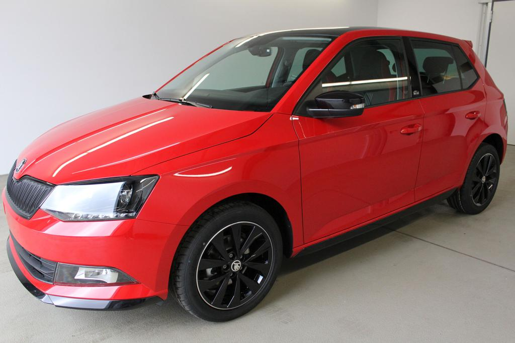skoda fabia facelift monte carlo wltp 1 0 tsi 81kw 110ps. Black Bedroom Furniture Sets. Home Design Ideas