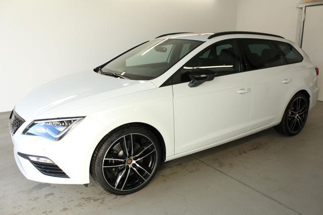 Kurzfristig verfügbares Fahrzeug, wird im Auftrag des Bestellers importiert / beschafft Seat Leon Sportstourer ST - Cupra 300 GVL 36 Monate 2.0 TSI DSG 4Drive Voll WLTP 221kW / 300PS