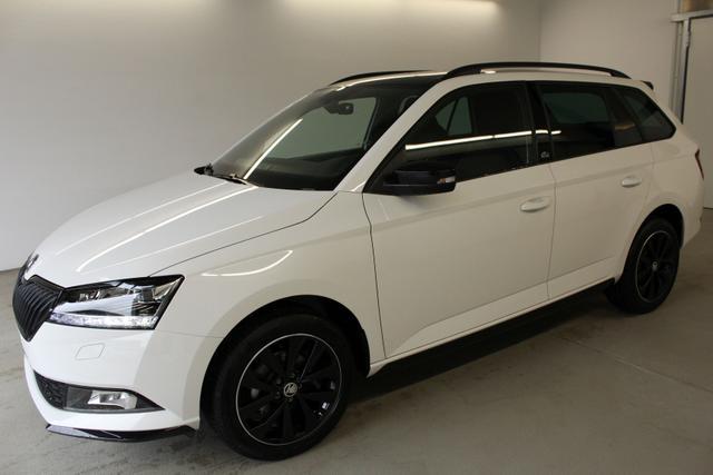 Kurzfristig verfügbares Fahrzeug, wird im Auftrag des Bestellers importiert / beschafft Skoda Fabia Combi - Facelift Monte Carlo WLTP 1.0 TSI 70kW / 95PS