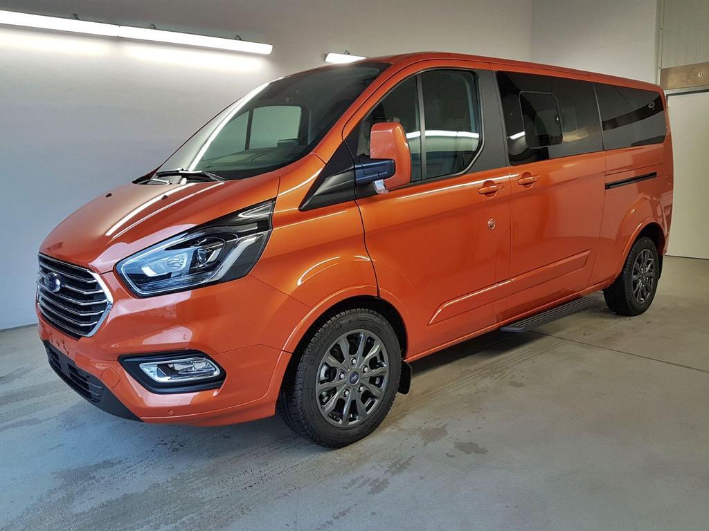 Ford / Tourneo Custom / Orange /  /  / L2H1 GVL 36 Mon. WLTP 2.0 TDCi Automatik 136kW / 185PS