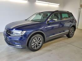 Volkswagen / Tiguan / Blau /  /  / WLTP GVL 36 Mon. 2.0 TSI DSG OPF 4Motion 140kW / 190PS